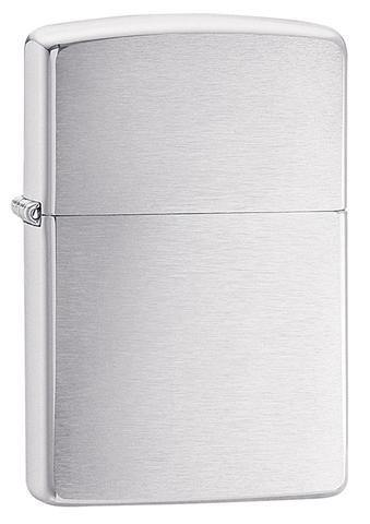 Zippo Classic Brushed Chrome Windproof Lighter (200)