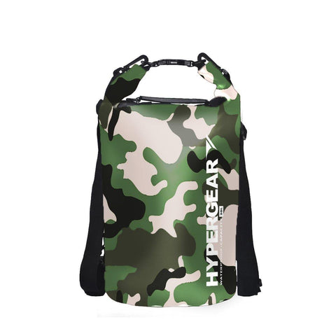 Hypergear Dry Bag 20L - Camouflage Green Delta