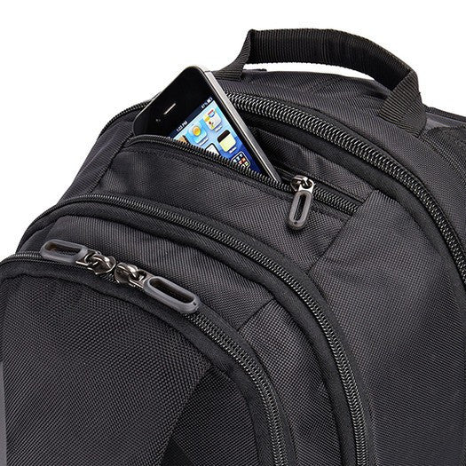 "Case Logic 15.6"" Laptop Backpack RBP315 - Black - oribags2 - 11"