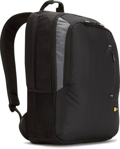 "Case Logic 17"" Value Laptop Backpack VNB217 - Black - oribags2"
