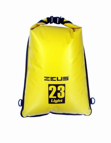Zeus Dry Bag Flat 23L - Yellow - oribags2