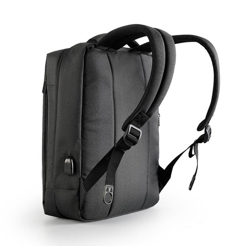 "Tigernu Anti-Theft 15.6"" Laptop Backpack 3269A - Black"
