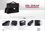Bagman S06-254LAP-01 Laptop Carrier Bag - Black