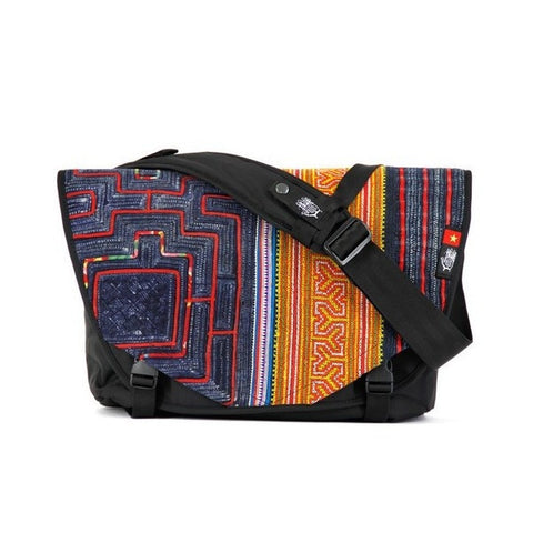 Ethnotek Acaat Messenger Bag - Vietnam 6 - oribags2 - 1