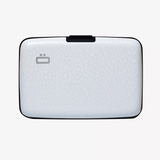 Ogon Stockholm Card Case RFID Safe - Crackled White