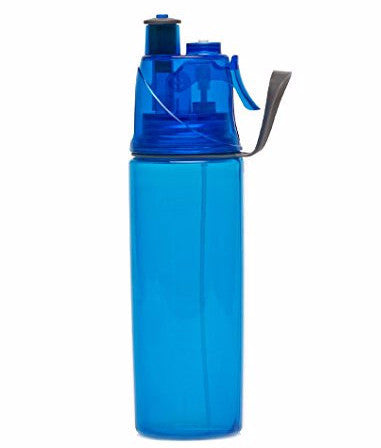 O2Cool Mist 'N Sip Hydration Bottle - 20oz. - Blue - oribags2 - 1