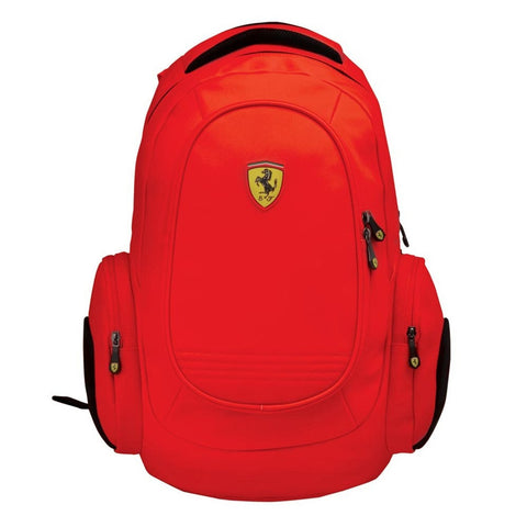 "Ferrari Laptop 15""  Backpack - Red - oribags2 - 1"