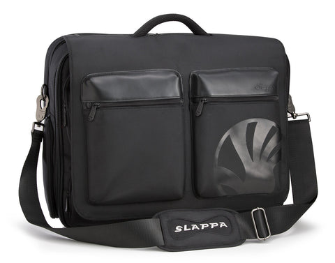 "Slappa Kiken 16"" Laptop Shoulder Bag Flap Only - 2 Pockets - oribags2"