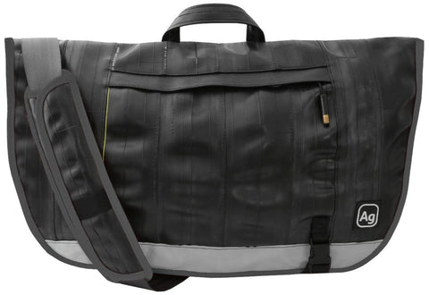 Alchemy Goods Dravus Recycled Messenger Bag - Charcoal - Oribags Sdn Bhd