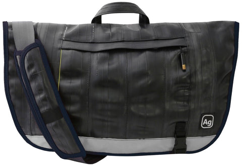 Alchemy Goods Dravus Recycled Messenger Bag - Navy - Oribags Sdn Bhd