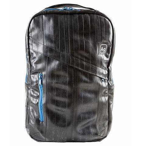 Alchemy Goods Brooklyn Recycled Bike Tube Backpack - Sky Blue - Oribags Sdn Bhd