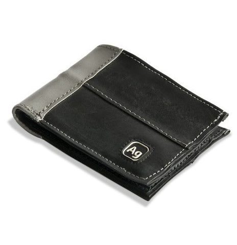 Alchemy Goods Franklin Reflective Eco Vegan Wallet - Silver - Oribags Sdn Bhd