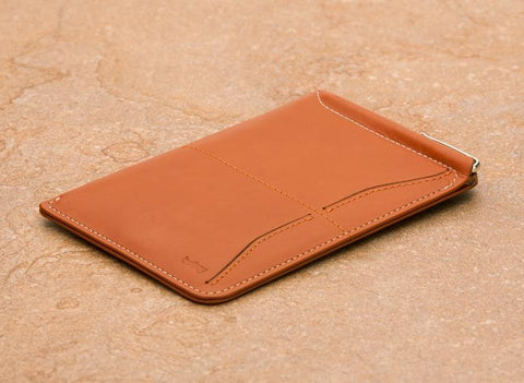 Bellroy Passport Sleeve - Tan - oribags2 - 1