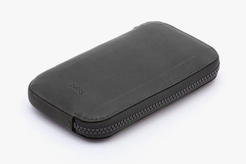 Bellroy All-Conditions Phone Pocket Leather Wallet - Charcoal