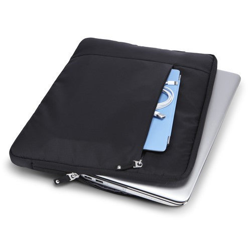 "Case Logic 15.6"" Laptop Sleeve TS115 - Black - oribags2 - 5"
