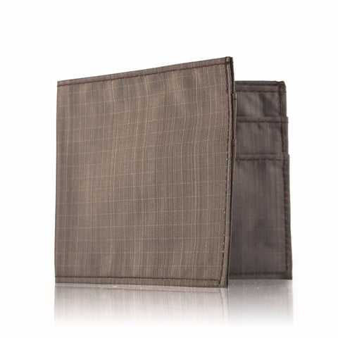 Allett SoftTech Nylon Outside ID Wallet - Pebble Brown - Oribags Sdn Bhd