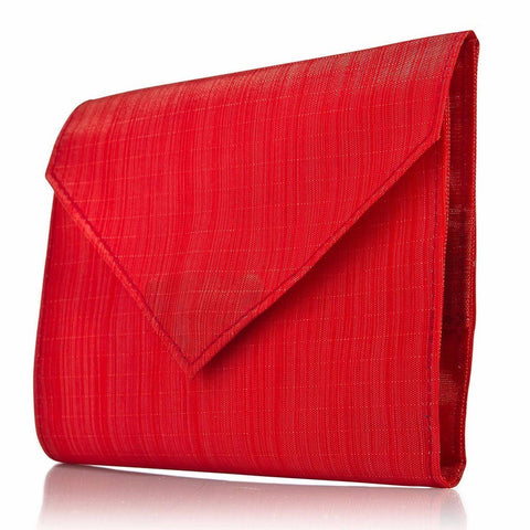 Allett SoftTech Nylon Womens Original Wallet - Red - Oribags Sdn Bhd