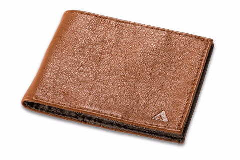 Allett Classic Leather Sport Wallet - Camel - Oribags Sdn Bhd