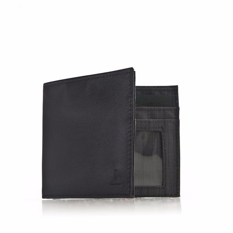 Allett Classic Leather Inside ID Wallet - Black - Oribags Sdn Bhd