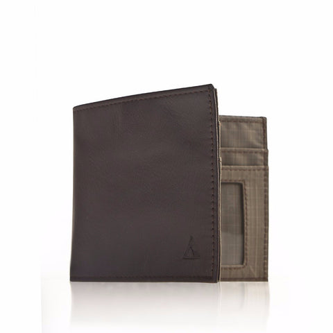 Allett Classic Leather Inside ID Wallet - Brown - Oribags Sdn Bhd