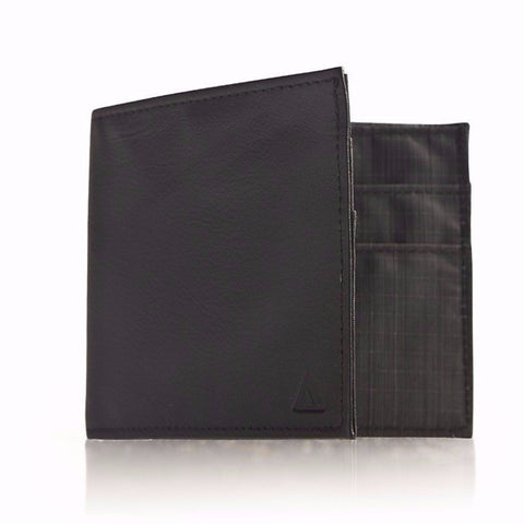 Allett Classic Leather Outside ID Wallet - Black - Oribags Sdn Bhd