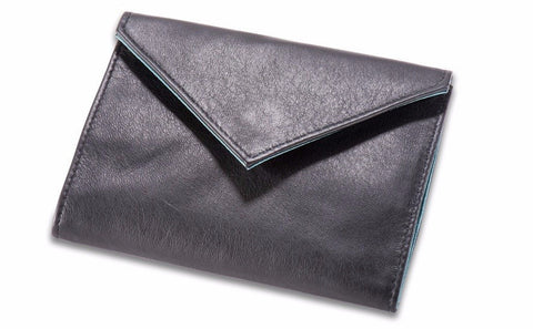 Allett Classic Leather Womens Original Wallet - Black - Oribags Sdn Bhd