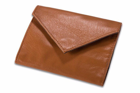 Allett Classic Leather Womens Original Wallet - Camel - Oribags Sdn Bhd