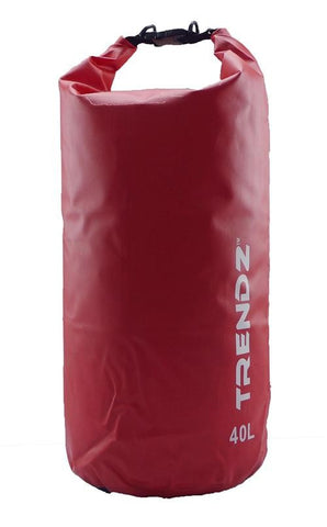 Trendz 40L Dry Bag - Red - oribags2 - 1