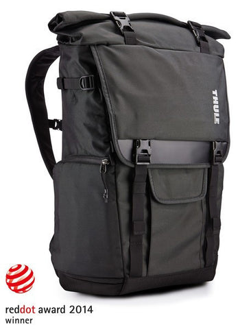 Thule Covert DSLR Rolltop Backpack - Dark Shadow - oribags2 - 1