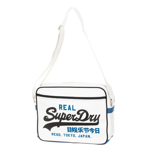 Superdry Mash Up Alumni Messenger Bag - Optic - oribags2 - 1