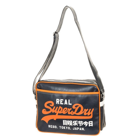 Superdry Mash Up Alumni Messenger Bag - Orange - oribags2 - 1