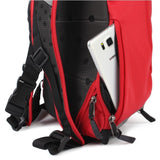 Tucano Cratere Reflective Running Backpack - Red - oribags2 - 8