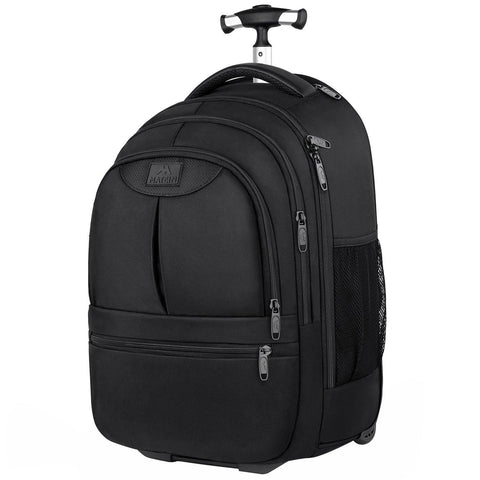 "Matein SCI Wheeled Laptop Backpack (Fits 15.6"" Laptops) - Black"