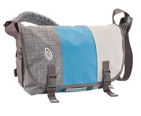 Timbuk2 Classic Messenger Bag Medium - Grey/Cold Blue/Tusk Grey - oribags2 - 1
