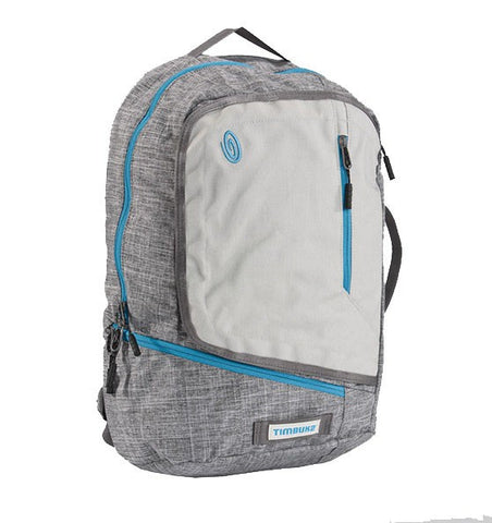 "Timbuk2 The Q 15"" Laptop Cycle Backpack - Grey - oribags2 - 1"