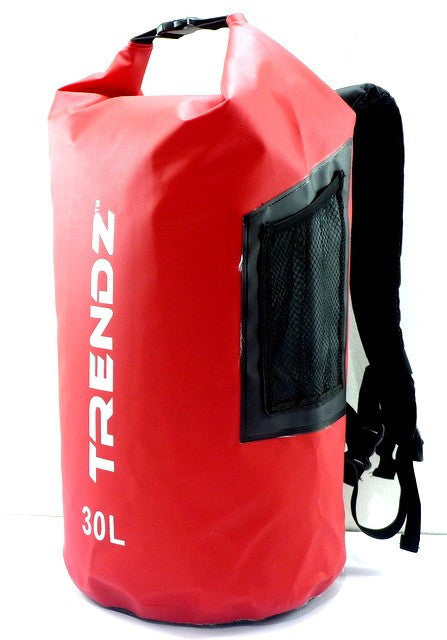 Trendz 30L Waterproof Backpack Supertube - Red - oribags2 - 1