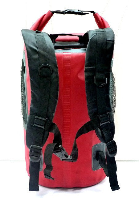 Trendz 30L Waterproof Backpack Supertube - Red - oribags2 - 2