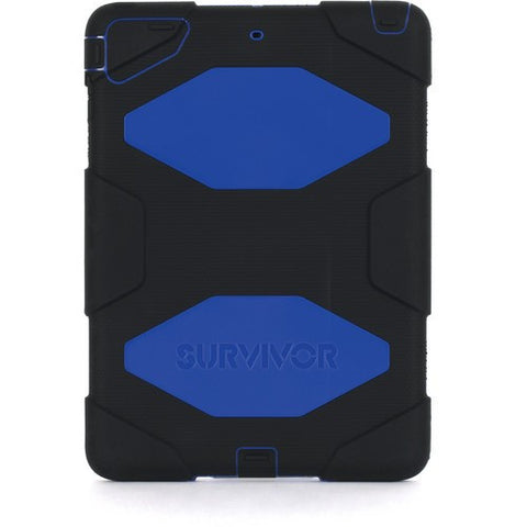 Griffin Survivor Case for iPad Air GB36403 - Black/Blue - oribags2 - 1