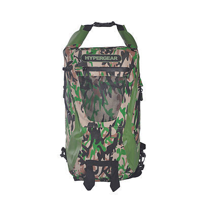 Hypergear Backpack Dry Pac Tough 20L - Camo Green - oribags2 - 1