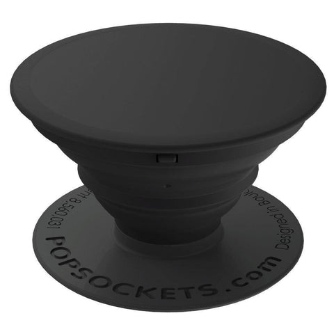 Popsockets Expanding Stand & Grip for Smartphones / Tablets - Black