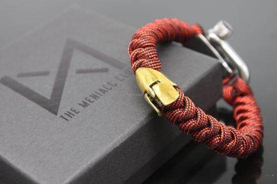 The Meniacc Spartan Rugged Bracelet - Oribags.com