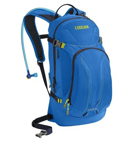 CamelBak M.U.L.E 100 oz Hydration Backpack - Electric Blue - Oribags Sdn Bhd