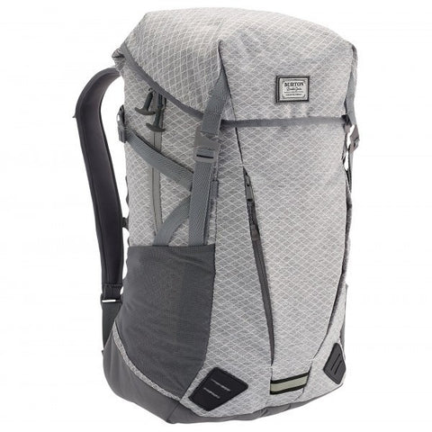 Burton Prism Backpack - Gray Heather Diamond Ripstop - Oribags Sdn Bhd