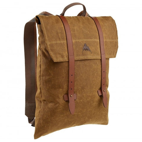 Burton Taylor Backpack - Foxy Brown Wax Canvas - Oribags Sdn Bhd