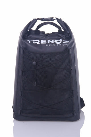 Trendz 30L Waterproof Dry Bag Backpack Advance Lightweight - Black - oribags2 - 1