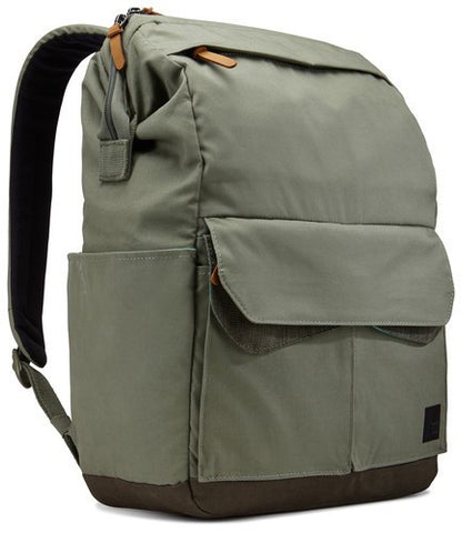 Case Logic LoDo Medium Backpack LODP114 - Petrol Green/Drab - oribags2 - 1