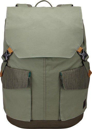 Case Logic LoDo Large Backpack LODP115 - Petrol Green/Drab - oribags2 - 2