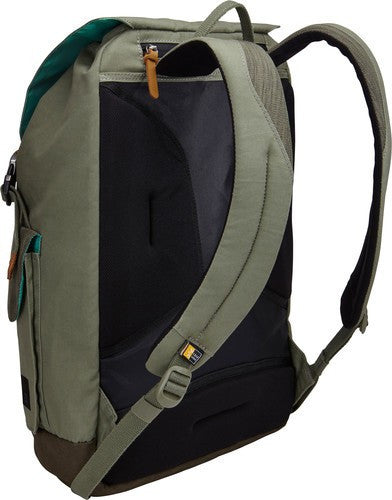 Case Logic LoDo Large Backpack LODP115 - Petrol Green/Drab - oribags2 - 3