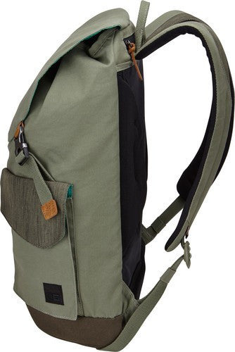 Case Logic LoDo Large Backpack LODP115 - Petrol Green/Drab - oribags2 - 4