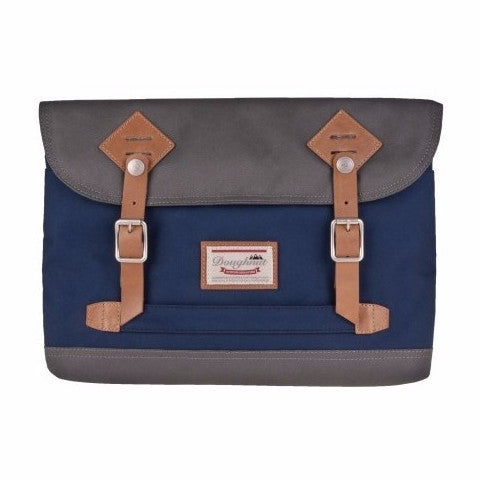 Doughnut Jungle 13'' Laptop Sleeve - Grey x Navy - oribags2 - 1